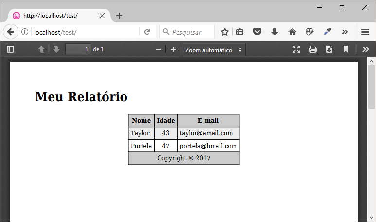 Install mPDF without Composer – Reports in PDF with PHP